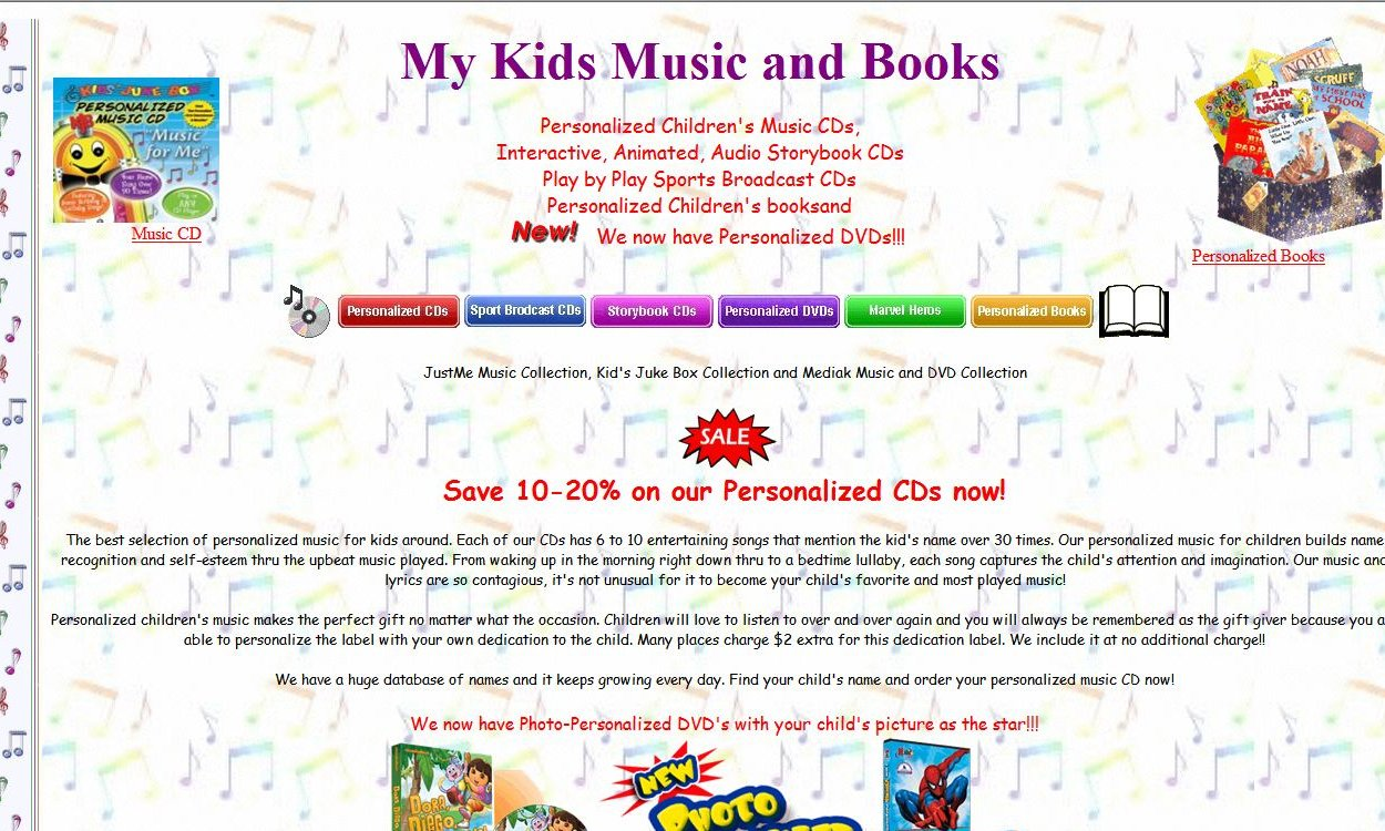My Kids Music and Books - Has upgraded features