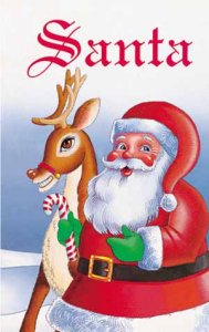 Personalized Chirstmas Book about Santa