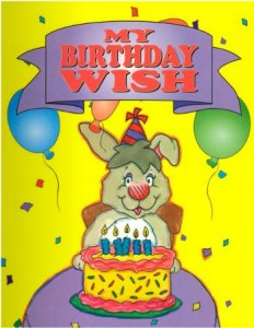 My Birthday Wish, personalized birthday book