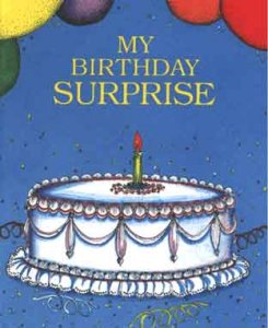 My Birthday Surprise Personalized birthday book