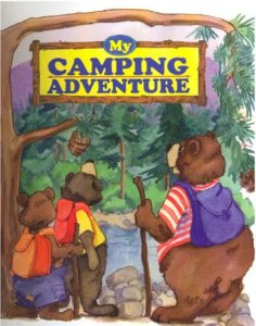 Personalized Camping Adventure book