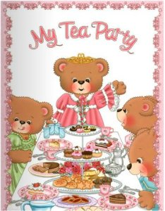 Personalized Tea Party Book
