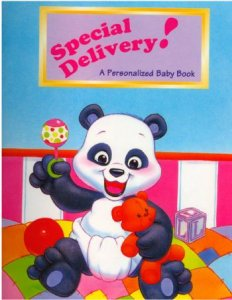 Personalized Baby Book  Special Delivery Baby