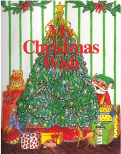 My Christmas Wish personalized Chistmas book