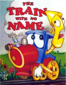 The Train With No Name personalized book about trains
