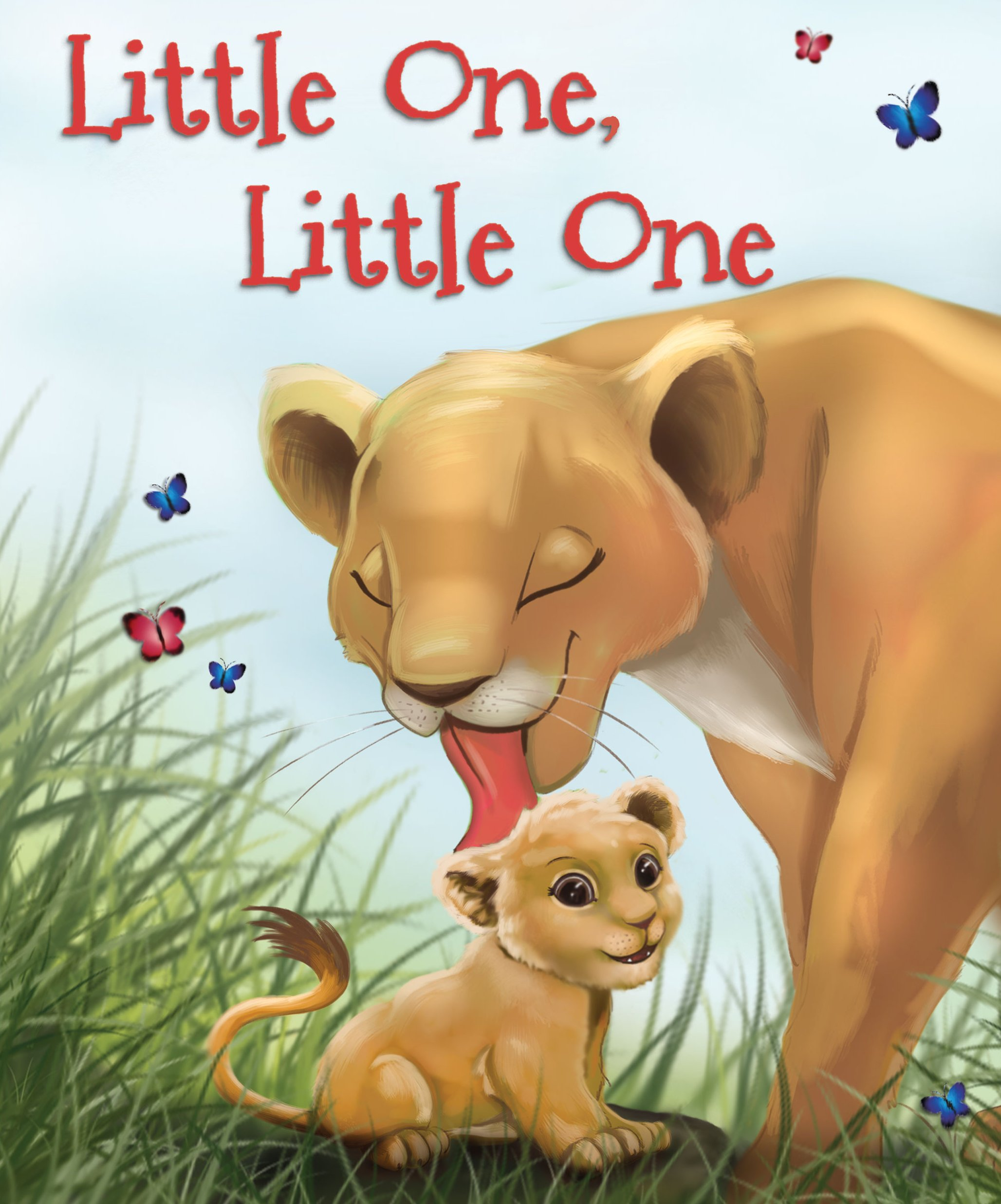 Little One, Little One, counting rhyming book for preschoolers and baby