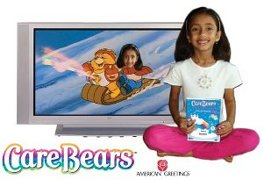 Care Bears and Me DVD, Picture your child on TV in these personalized DVD movies