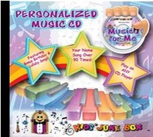 Sing Your Name - Music For Me Personalized childrens Music CD