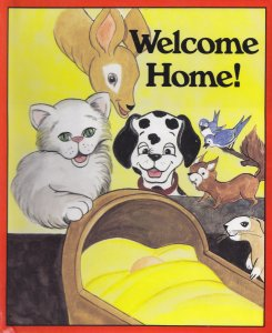 Personalized Baby Book - Welcome Home