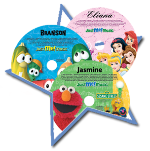 Personalized CDs for Kids