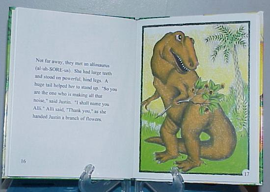 personalized book about Dinosaurs