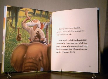 Personalized Noah's Ark book