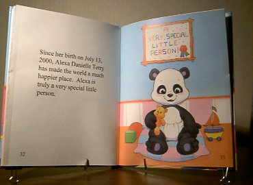 personalized baby book