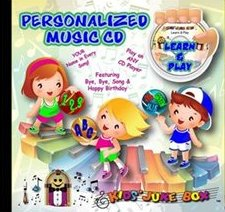 Let's Play and Learn Personalized Music CD