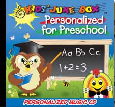 Personalized For Preschool Music CD