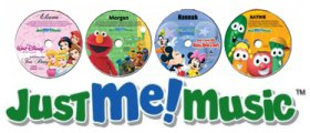 Personalized CDs for kids. The worlds biggest brands and favorite characters singing and speaking your child's name! Each CD is personalized by your child's favorite characters. Perfect for gifts. Disney Princess, Elmo, Barney, VeggieTales, Mickey Mouse, Spiderman and More.