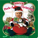 Peek a book Christmas